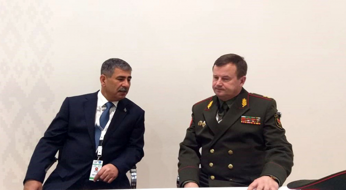 Azerbaijan, Belarus mull prospects for military cooperation