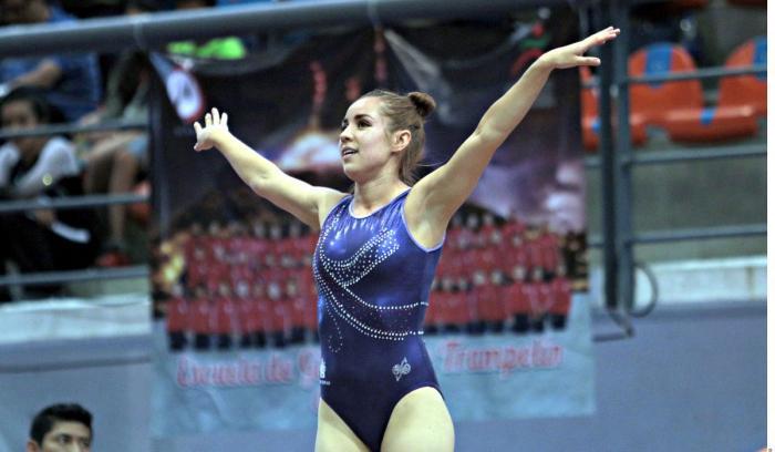 Lugar 18 para gimnasta Navarro en Azerbaiyán