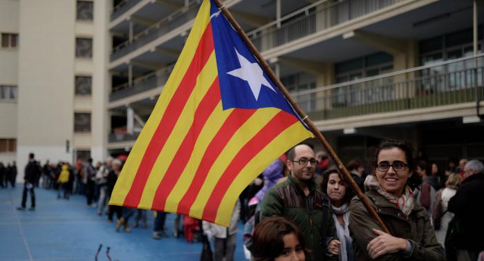 Exportavoz del Gobierno catalán: los ciudadanos de Cataluña no están militarizados