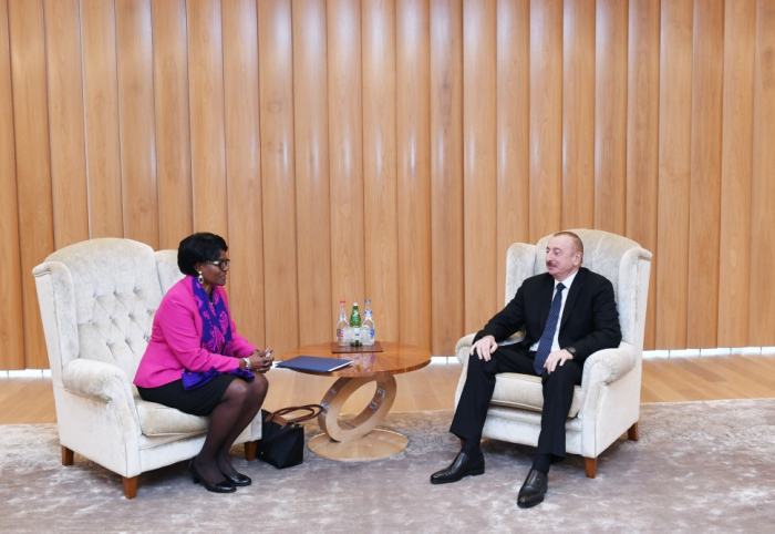 President Ilham Aliyev meets with World Bank Regional Director for South Caucasus