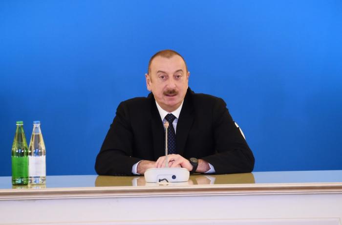 """""""Azərbaycan Avrasiyanın nəqliyyat mərkəzinə çevrilir"""" - Prezident"""