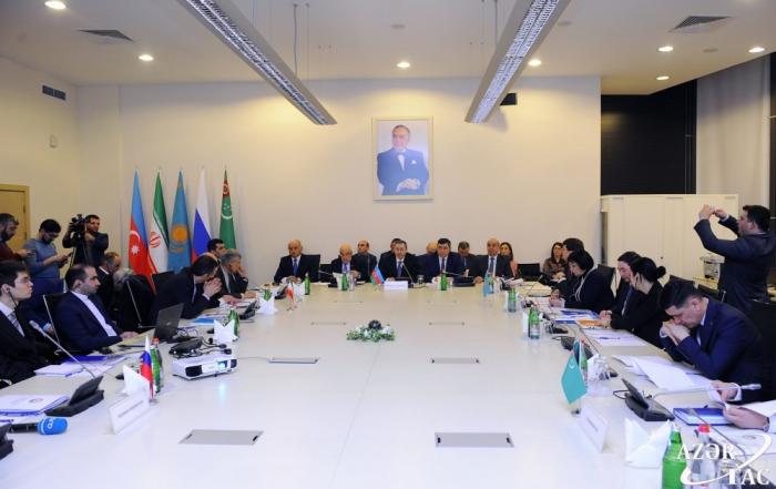 Aprobado el comunicado de la primera sesión del Grupo de Trabajo de Alto Nivel sobre el Mar Caspio