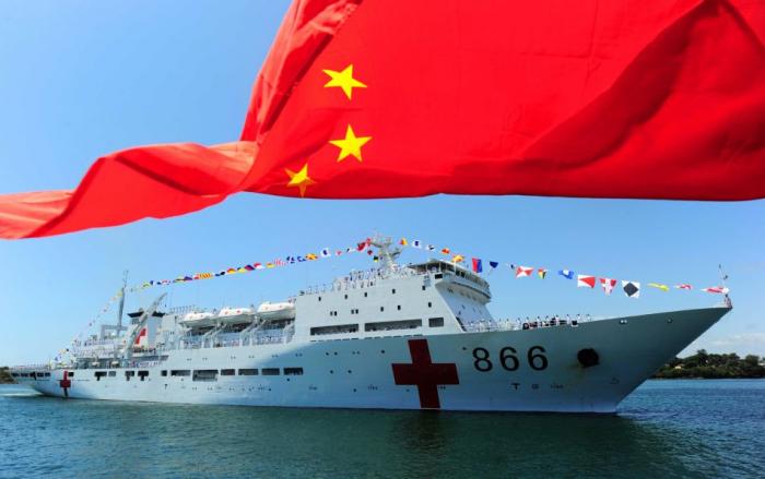 China's naval hospital ship provided free medical services