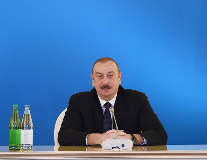 Presidente Ilham Aliyev:   El CSG es un proyecto importante que refleja nuestro interés común
