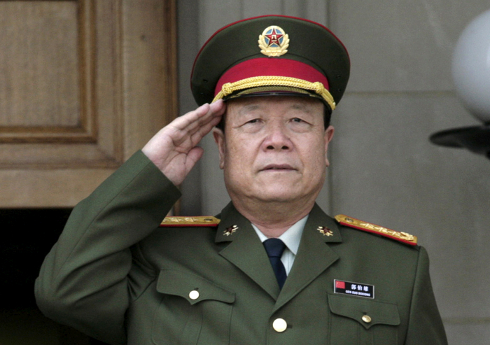 Former top Chinese general sentenced to life for corruption