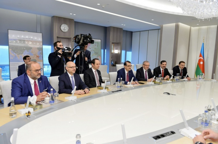 Les projets d'investissement de la SOCAR en Turquie au menu des discussions