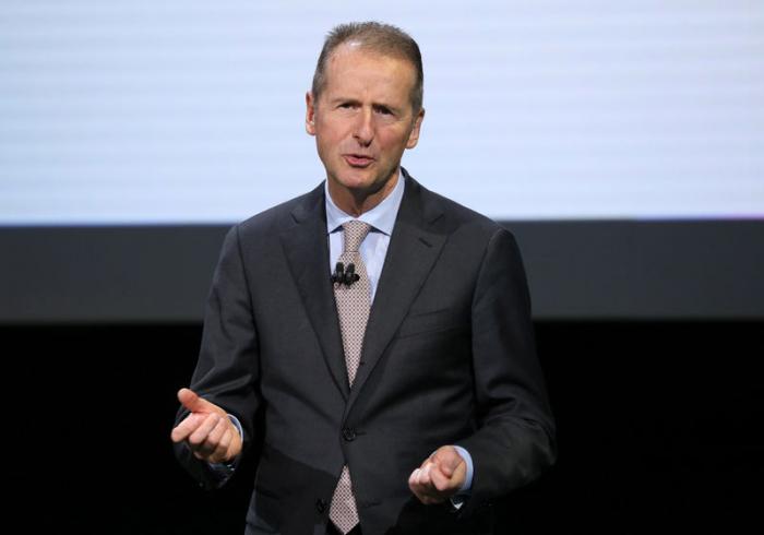 VW-Chef Diess - US-Zölle könnten Volkswagen Milliarden kosten
