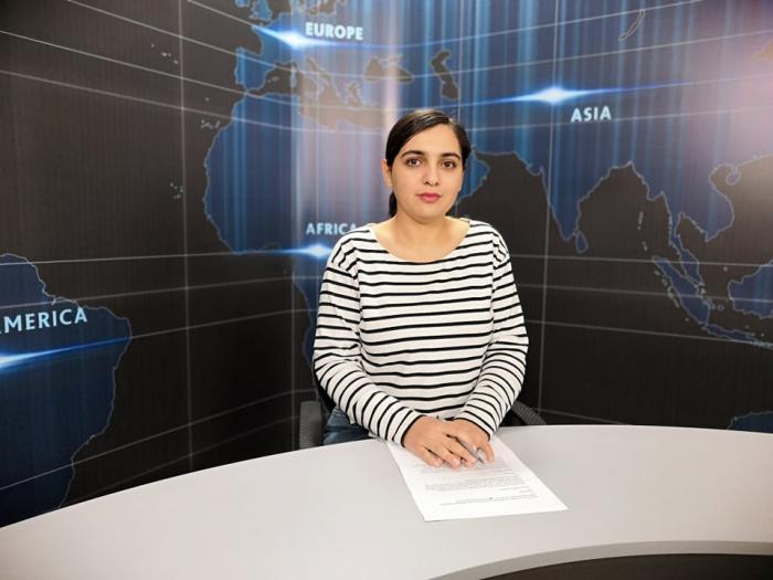 AzVision TV  :Die wichtigsten Videonachrichten des Tages auf Englisch  (21. Februar) - VIDEO