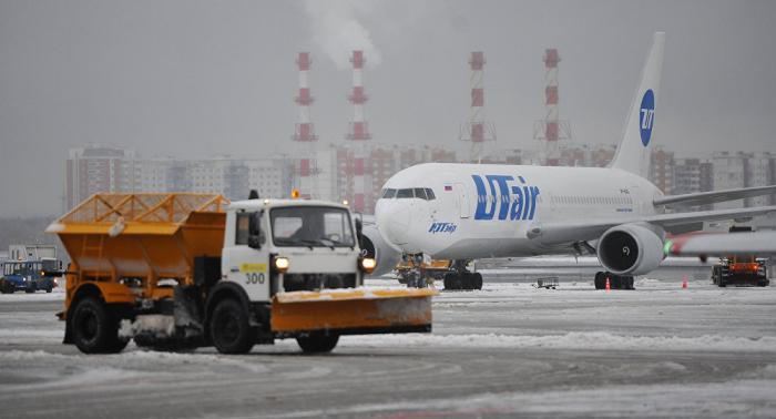 Starker Schneefall in Moskau: Dutzende Flüge gestrichen