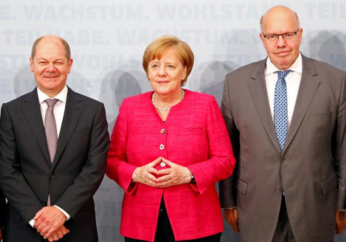 Scholz und Altmaier streiten über Forschungsförderung