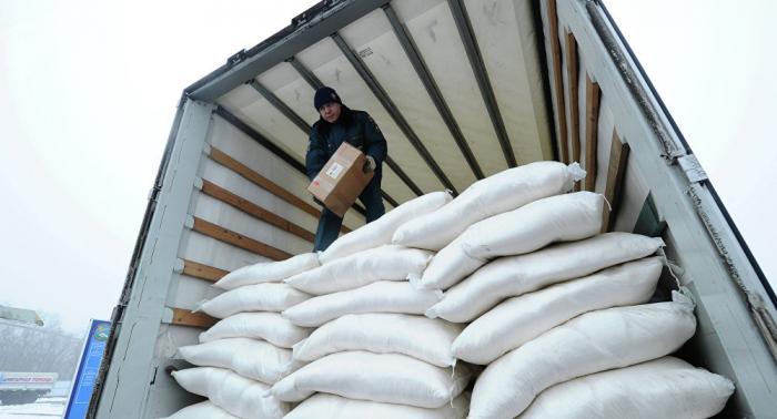 Más de 140 toneladas de ayuda humanitaria internacional llega a Donbás