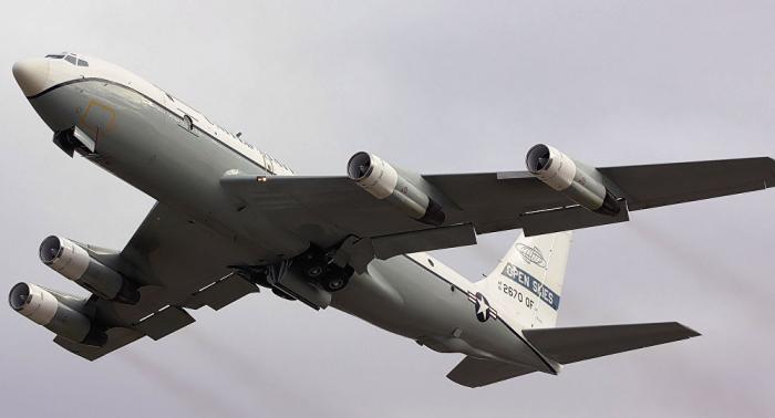 US-Militärflugzeug über Russland gesichtet
