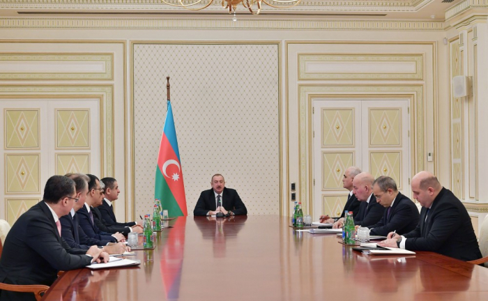 President Ilham Aliyev chairs meeting on economic and social issues