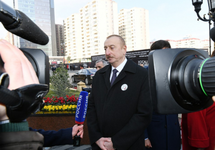 Azerbaijani people will never forget Khojaly genocide, says President Ilham Aliyev