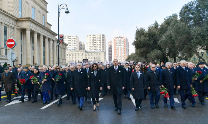 Khojaly genocide anniversary march held in Baku -  PHOTOS