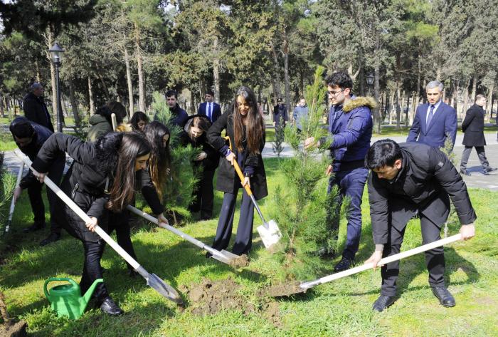 "Heydar Aliyev Foundation VP Leyla Aliyeva takes part in tree planting event under ""Justice for Khojaly"" campaign"