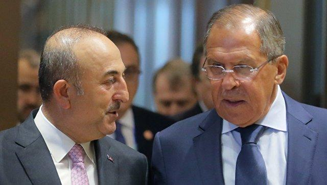 Russian, Turkish FMs reaffirm commitment to fight terrorists in Syria