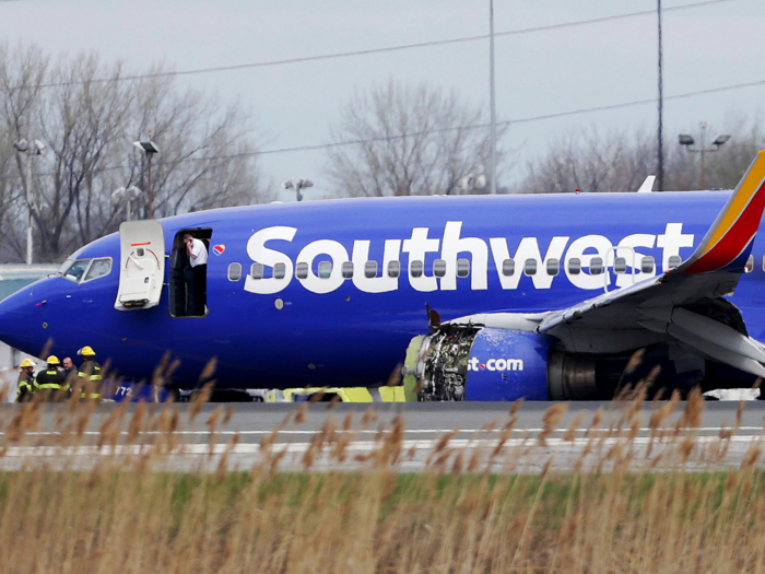 Southwest Airlines Flight Makes Emergency Landing After Cabin Pressure Related Injury