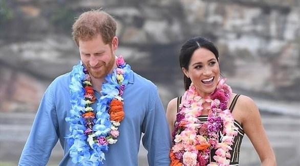 الأمير هاري وزوجته الحامل المغرب الشهر الجاري