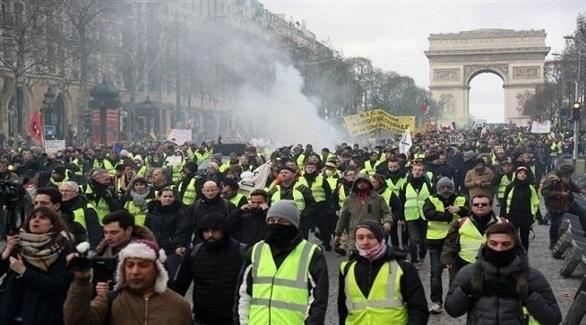 """فرنسا: تظاهر """"السترات الصفراء"""" في السبت الـ13"""
