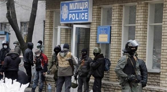 أوكرانيا: اشتباكات إثر اقتحام العشرات مركزاً للشرطة
