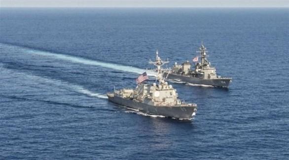 مدمرتان أمريكيتان تبحران في بحر الصين الجنوبي