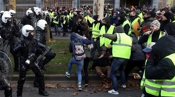 """السترات الصفراء"""" يتظاهرون في السبت الـ14"""