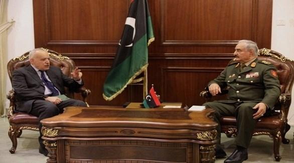 ليبيا: حفتر يناقش مع سلامة تطورات الأوضاع في الجنوب