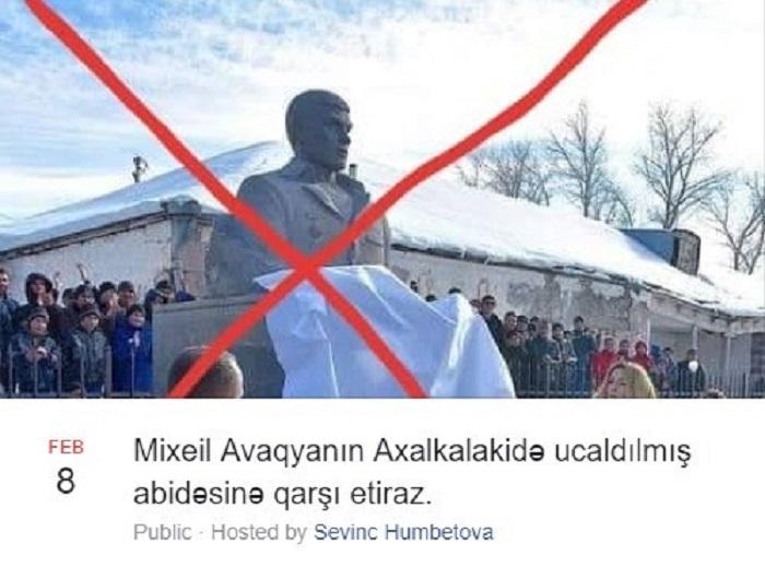 Azərbaycanlıların Tbilisidə etiraz aksiyasına icazə verilib