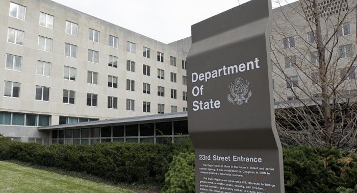 ABŞ Dövlət Departamentindən İrəvana etiraz