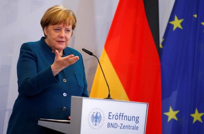 """Merkel: """"Suriyada sülhdən hələ çox uzağıq"""""""
