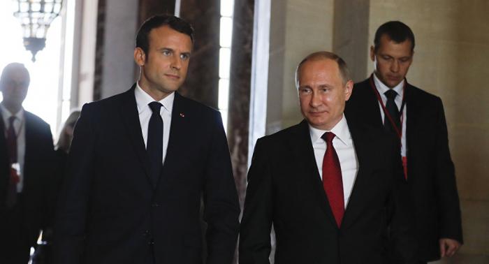 الإليزيه: ماكرون وبوتين يناقشان سوريا وأوكرانيا في محادثة هاتفية