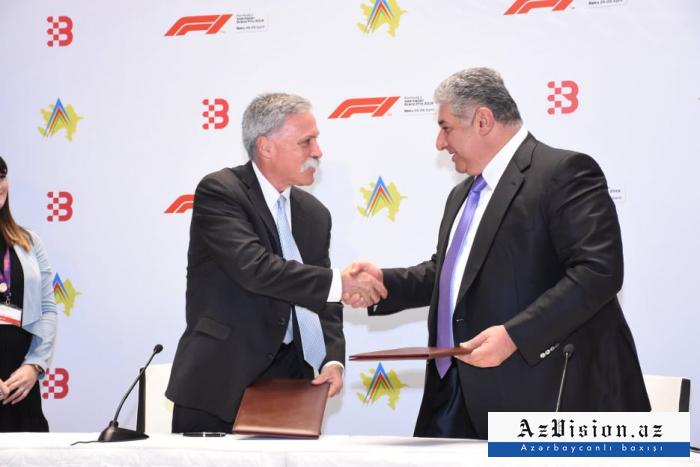 Baku extends deal to host Formula 1