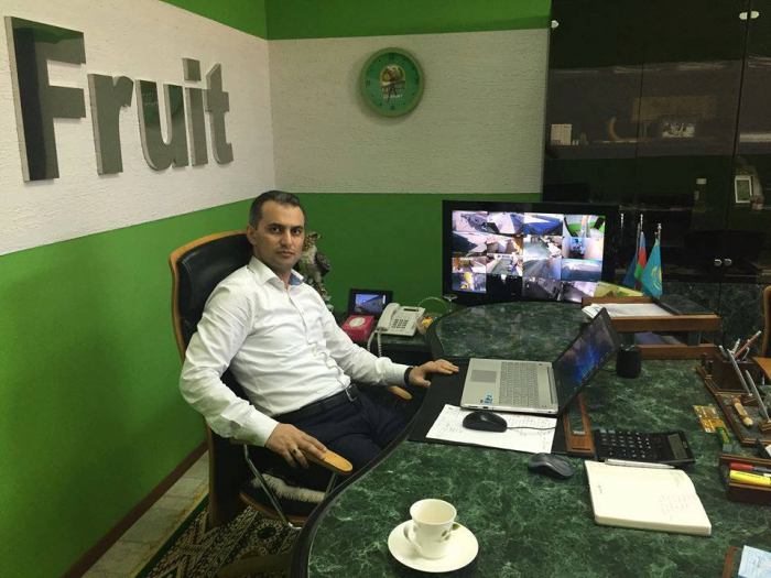 Aktauda yaşayan 40 yaşlı azərbaycanlı iş adamı