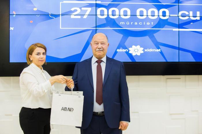 """""""ASAN xidmət""""ə 27 milyonuncu müraciət - FOTOLAR"""