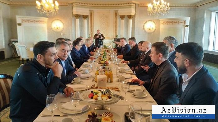 Moskvada Azərbaycan və Çeçenistan nümayəndələri görüşdü - FOTO