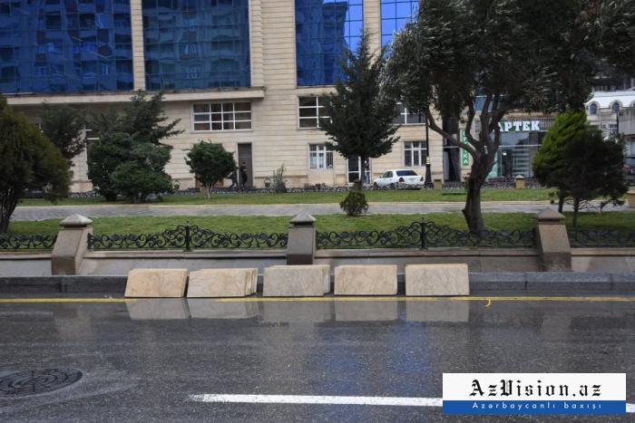 """""""Ana harayı"""" abidəsinin yerləşdiyi park təmir olunur - FOTO"""