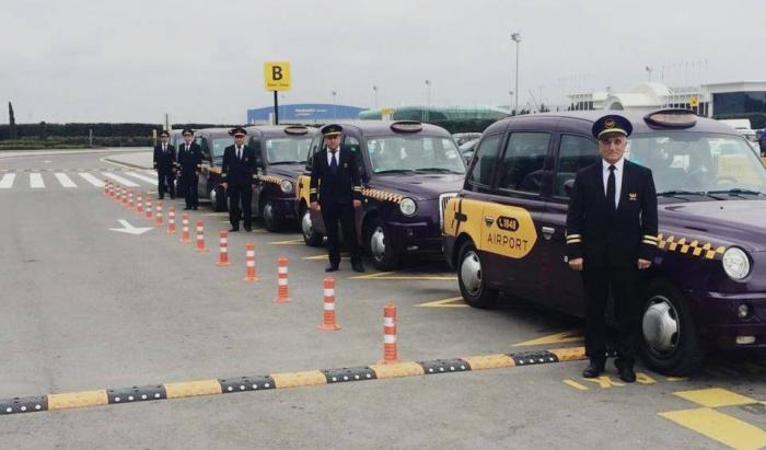 """Aeroportda yalnız """"Bakı Taksi Xidməti"""" fəaliyyət göstərəcək"""