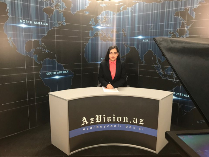 AzVision TV releases news edition of news in English for February 26 -  VIDEO