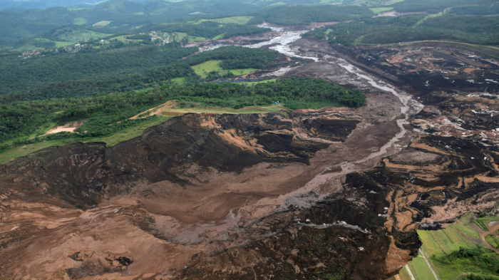 Awful moment of colossal Brazil dam collapse caught on CCTV-VIDEO