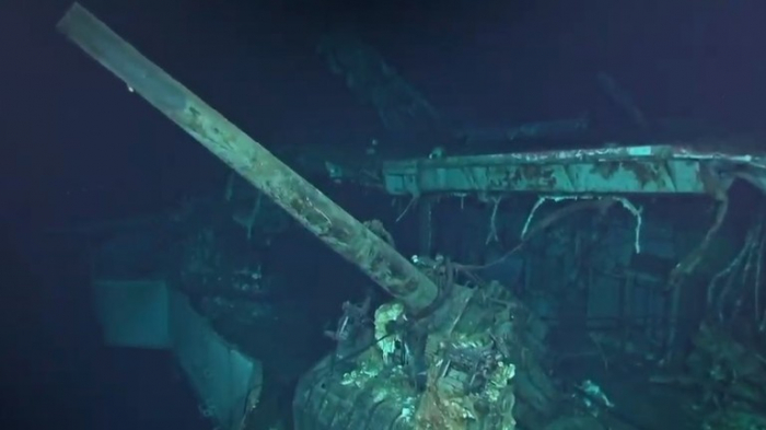 Wreck of aircraft carrier behind WW2 'Doolittle Raid' found on Pacific Ocean floor