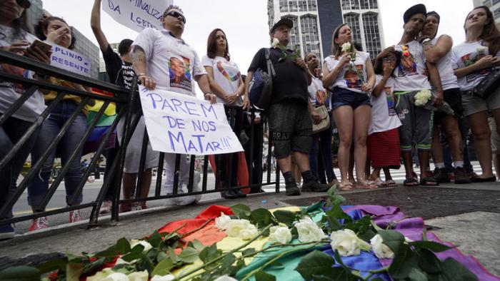 """Brasil, el """"campeón mundial"""" en crímenes contra las minorías sexuales"""