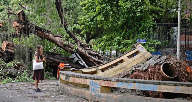 At least 6 dead in Brazil after powerful storm lashes Rio de Janeiro