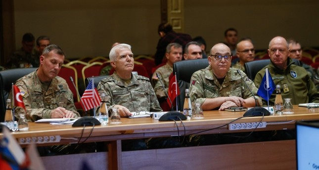 NATO military committee holds talks at Turkey base
