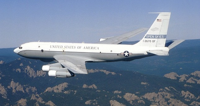 US military to conduct surveillance flight over Russia