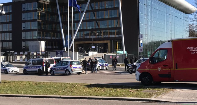 PKK terror group attack Council of Europe HQ in Strasbourg,   43 detained