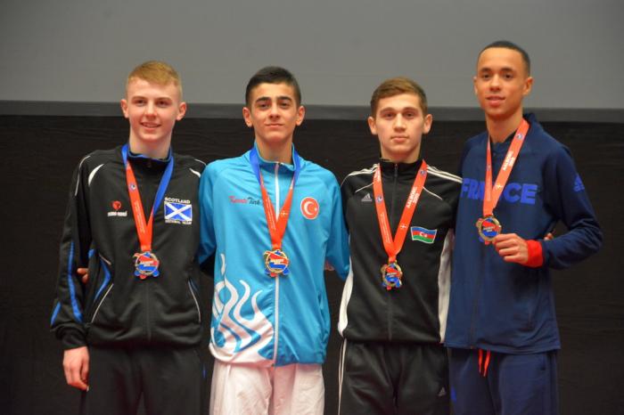 Karateçilərimiz Avropa çempionatına uğurla başladılar - FOTOLAR