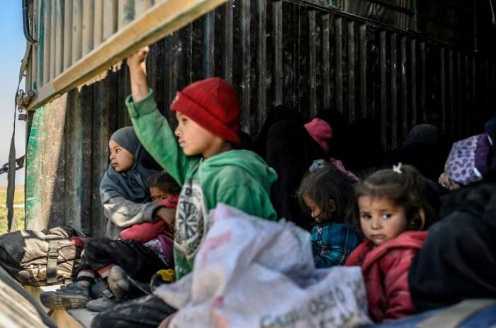 Syrie: plus de 2500 enfants de 30 pays entassés dans trois camps
