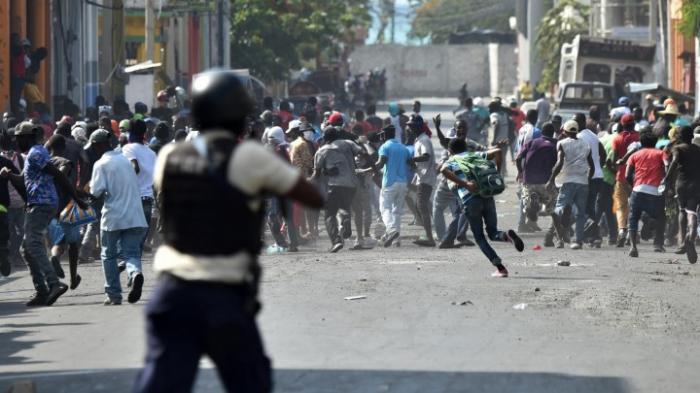 Neue Proteste gegen Präsident Moïse