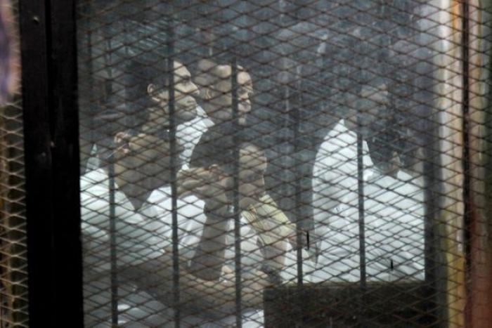 Égypte :  neuf hommes exécutés pour l